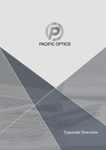 Pacific Optics Corporate Overview