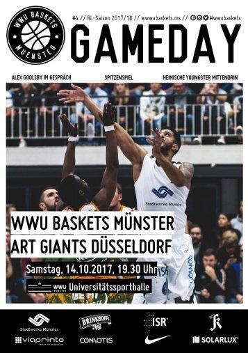 WWU Baskets Gameday # 4 2017_18