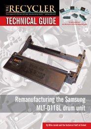 Remanufacturing the  Samsung  MLT-D116L