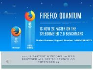 Firefox Quantum Browser Support