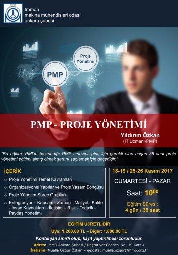 PMP Proje Yönetimi