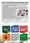 Vereinsshirts und Textilien mit Druck und Stickerei - Seite 3