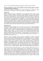 LFY.211. LFY sovellukset harjoittelussa ja kuntoutuksessa ...