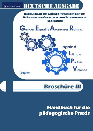 German GEAR against IPV Booklet III (Teachers Manual