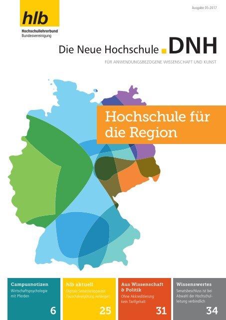 Die Neue Hochschule Heft 5/2017