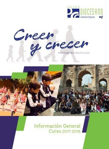 Catálogo general del curso 2017-2018