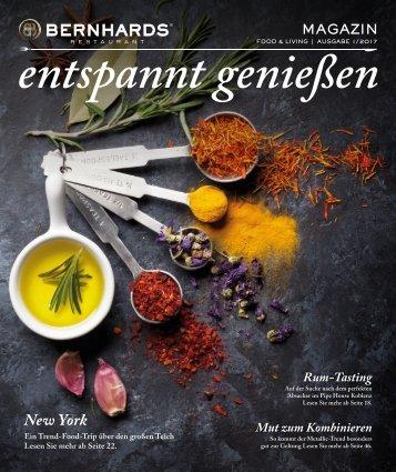 BERNHARDS Magazin - entspannt genießen 1-2017
