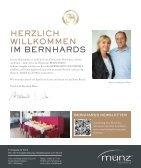 BERNHARDS Magazin - entspannt genießen 1-2017 - Page 3