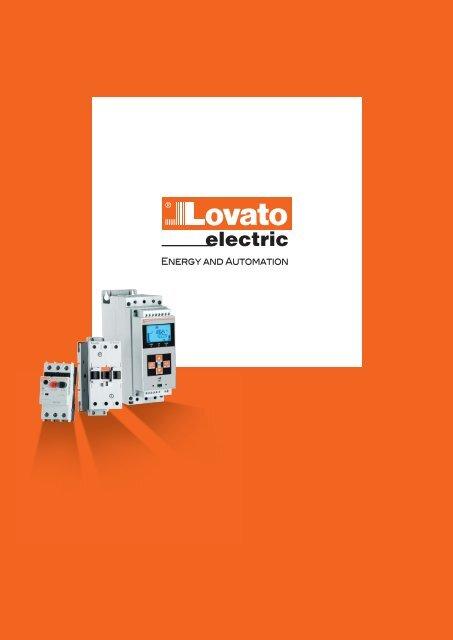 Lovato electric Katalog 2016 / 2017