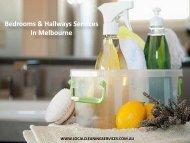 Bedrooms & Hallways Services In Melbourne