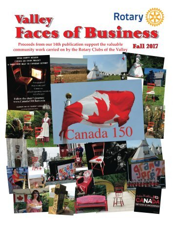 Valley Faces of Business Yearbook Fall 2017