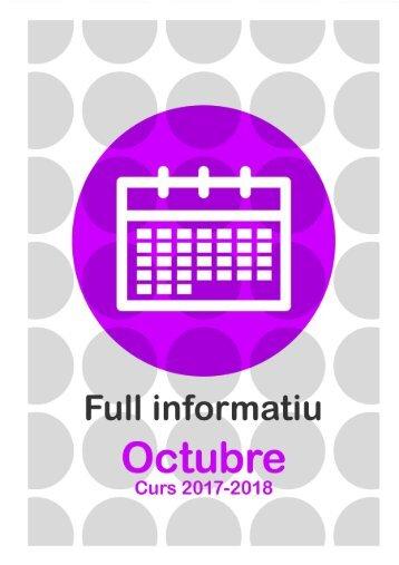Full Informatiu OCTUBRE 2017