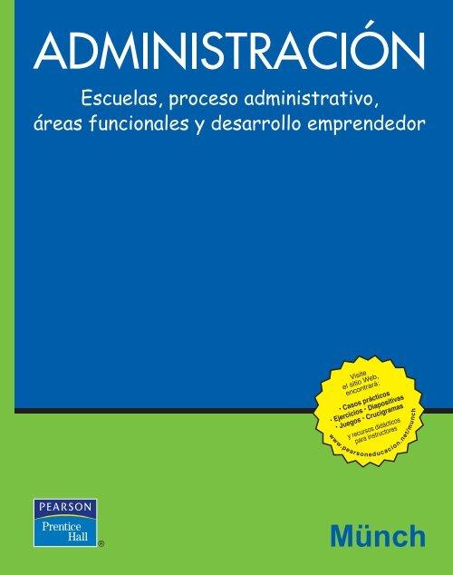 Administración Escuelas Proceso Administrativo Münch
