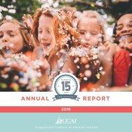 CCAI Annual Report 2016