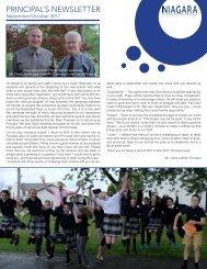 Principal's Newsletter Sept 2017-18
