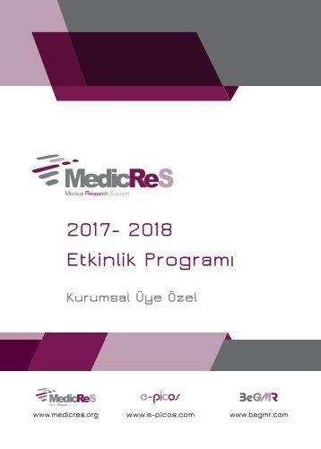 2017-2017 MedicReS Turkey Program