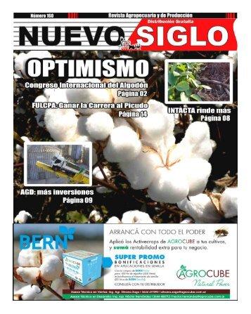 Revista Agropecuaria Nuevo Siglo Número 160 - OCTUBRE 2017