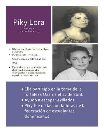 Mujeres de la revolucion de abril, Jose Vega