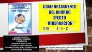 COMPORTAMIENTO DEL AHORRO EFECTO HIBERNACIÓN