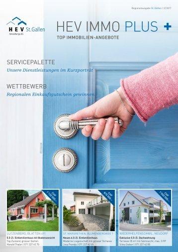HEV IMMO PLUS Regionalausgabe St. Gallen