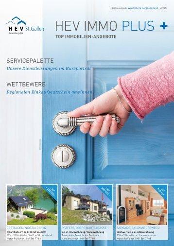 HEV IMMO PLUS Regionalausgabe Werdenberg-Sarganserland