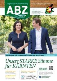 Allgemeine Bauernzeitung  - Ausgabe 03 - 2017 (Kärntner Bauernbund)