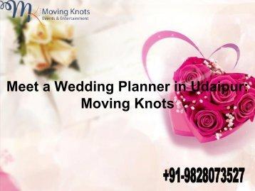 Meet a Wedding Planner in Udaipur