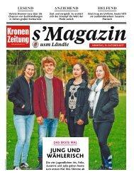 s'Magazin usm Ländle, 15. Oktober 2017