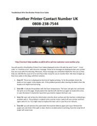 Troubleshoot All In One Brother Printer Error Codes