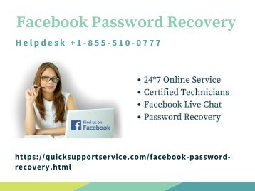 Facebook Password Recovery
