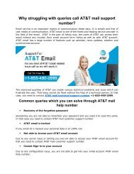 Why struggling with queries call AT&T mail support +1-855-490-2999 Number