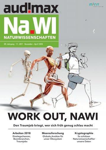audimax NaWi 11/2017: Das Karrieremagazin für Naturwissenschaftler