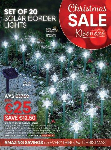 Spain Kleeneze AutumnWinter Christmas Sale (English)