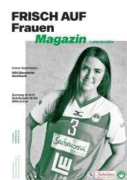 Ausgabe 1 - Saison 2017/2018 - FRISCH AUF Frauen Magazin