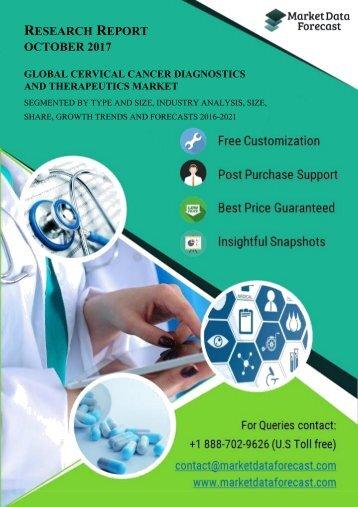 Global Cervical Cancer Diagnostics and Therapeutics Market