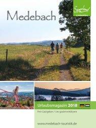 Urlaubsmagazin Medebach 2018