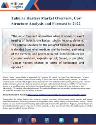 Tubular Heaters Market Overview, Cost Structure Analysis and Forecast to 2022