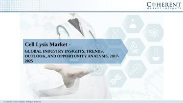 Cell Lysis Market - Global Industry Insights, Trends, Outlook, and Analysis, 2017–2025