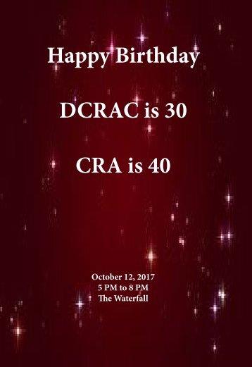 Celebrate CRA Program Book