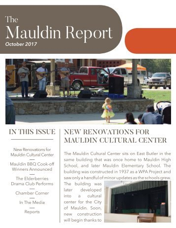 October 2017 Mauldin Report