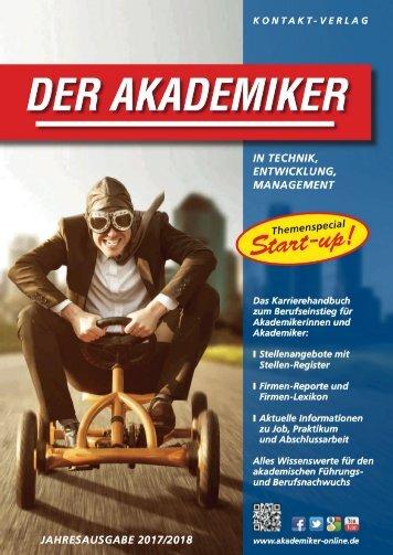 Der Akademiker, Jahresausgabe 2017/2018