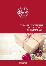 TEACHER-TO-STUDENT CHRISTMAS 2017