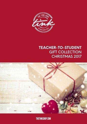 TEACHER-TO-STUDENT CHRISTMAS 2017
