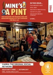 Mine's a Pint Issue 43