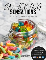 Snacking Sensations Everything $10 and Under