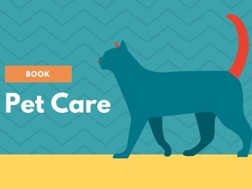 Pet Care Book