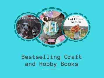 Best Selling Craft and Hobby Books