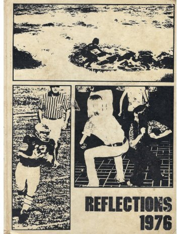 "1976 ""REFLECTIONS"" Hoover Jr High School YEARBOOK"