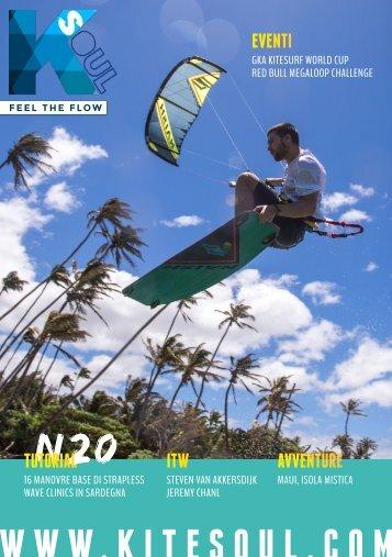 Kitesoul Magazine #20 Edizione Italiana