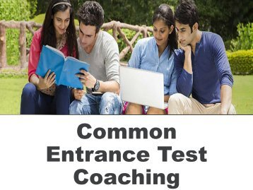 Common Entrance Test Coaching